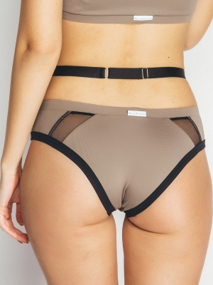EVELINA bottom sand brown