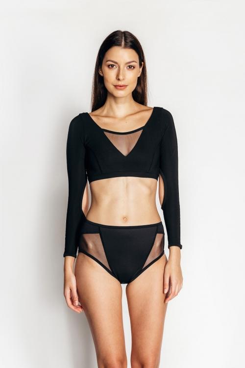 KARMEN long-sleeved top black