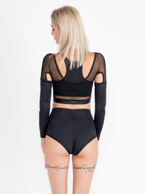NADJA long-sleeved top black