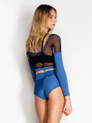 NADJA long-sleeved top bluemoon