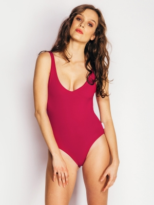 PINA bodysuit cherry
